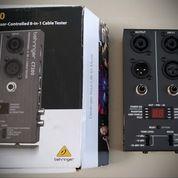 Behringer CT200 - 8 In 1 Cable Tester LIKE NEW !! (26778931) di Kota Jakarta Timur