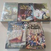 Novel The Heroes Of Olympus Lost Hero Rick Riordan Percy Jackson Son Neptune House Hades Blood (26781079) di Kab. Probolinggo