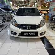 Honda Brio E CVT 2016 KM 39rb Spion Retrech TV Audio Cello (26786823) di Kota Surabaya