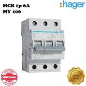 MCB Miniature Circuit Breaker 3p 32A HAGER - BERLIANJAYA ELECTRIC (26820083) di Kota Malang