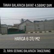 Tanah Balaraja 4.500m2 SHM Di Jalan Propinsi Kab Tangerang Banten (26840883) di Kab. Tangerang