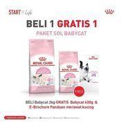 Royal Canin Beli 1 gratis 1 Paket Sol Babycat (26925227) di Kota Jakarta Selatan