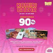 Mizanstore Komidi Bazaar Up To 90% (26925267) di Kota Jakarta Selatan
