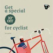 Six Ounces Get A Special 10% Off For Cyclist (26925455) di Kota Jakarta Selatan