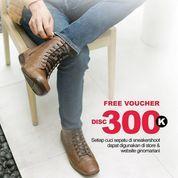 Sneakershoot.id Free Voucher Disc. 3000K (26936435) di Kota Jakarta Selatan