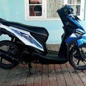 Tahun 2014 Honda Beat Warna Biru (26950747) di Kota Gorontalo