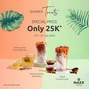 MAXX COFFEE PROMO SPECIAL PRICE ONLY 25K MINUMAN TERTENTU (26956239) di Kota Jakarta Selatan