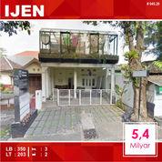 Rumah Cafe Luas 203 Di Merapi IJEN Kota Malang _ 045.20 (26958283) di Kota Malang