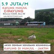 KAVLING MURAH STRATEGIS DI MUNJUL CIPAYUNG (26970831) di Kota Jakarta Timur