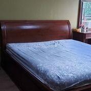 Tempat Tidur Jati Uk 180 X 200 (King) Kondisi Masih Sangat Bagus (26973907) di Kota Tangerang Selatan