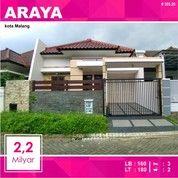 Rumah Baru Luas 180 Di Golf Araya Kota Malang _ 355.20 (26979831) di Kota Malang