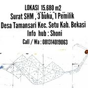 Lahan Perumahan 18,680 M2 - Setu Bekasi (26980035) di Kab. Bekasi