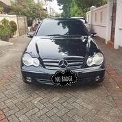 Mercedes Benz C230 W203 7Gtronic Black On Beige Bagus Terawat (26993563) di Kota Jakarta Barat