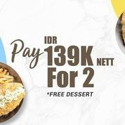FISH & CO. MEDAN PROMO PAY IDR 139K NETT FOR 2 SELECTIONS OF FISH AND CHIPS (26994451) di Kota Medan