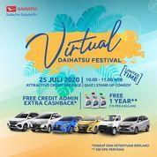 Daihatsu indonesia Virtual Daihatsu Festival (26997731) di Kota Jakarta Selatan