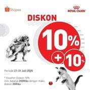 Royal Canin Diskon 10% + 10% (27015231) di Kota Jakarta Selatan