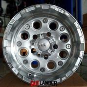 Velg Ring 15 Lebar 8 Pcd 5x139,7 Tipe Duffy Warna Silver Mobil JImny Katana Feroza Escudo Taft (27034055) di Kota Semarang