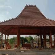 Pendopo Joglo Kayu Jati Tumpangsari Ukiran, Rumah Joglo Gebyok Ukiran Sokoguru 20cm (27036803) di Kab. Jepara