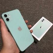Iphone 11 256gb Green Dual Sim Mulus Garansi Panjang Internasional (27043835) di Kota Bandung