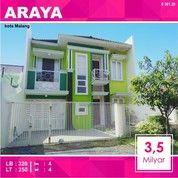 Rumah 2 Lantai Luas 250 Di Golf Araya Kota Malang _ 361.20 (27060727) di Kota Malang