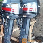 Mesin Tempel Yamaha 25 Pk Kondisi 90% (27062351) di Kab. Cilacap