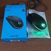 Logitech Mouse Wire Gaming G103 (27069083) di Kota Jakarta Pusat