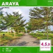 Tanah Kavling Luas 200 Di Palm Valley Binus Araya Kota Malang _ 370.20 (27073183) di Kota Malang
