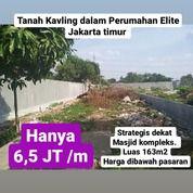 Tanah Kavling Dalam Perumahan Jatinegara Indah Jakarta Timur (27080899) di Kota Jakarta Timur