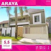 Rumah Baru 2 Lantai Luas 375 Di Boulevard Golf Araya Kota Malang _ 372.20 (27084983) di Kota Malang