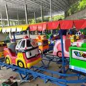 PROMO Kereta Panggung Robocar Tayo Odong Odong Fiber (27100007) di Kab. Trenggalek