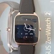 Smartwatch Asus Zenwatch 2 Pria [Bekas Mulus], Strap Kulit (27103951) di Kab. Bogor