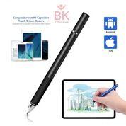 Stylus Pen 2in1 Universal Android Samsung Ipad Ujung Lancip Tanpa Batrei (27122683) di Kab. Blitar