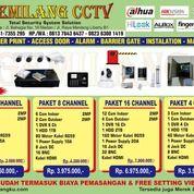 Lengkap Paket CCTV 8Camera 2MP Bergaransi (27126703) di Kota Medan