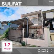 Rumah 2 Lantai Luas 149 Di Sulfat Sanan Kota Malang _ 386.20 (27134747) di Kota Malang