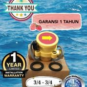 """Brass Flow Switch 3/4"""" - 3/4"""" Otomatis Pompa Booster Pompa Pendorong (27141167) di Kota Jakarta Utara"""