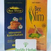 Bee Slim & Bee Sleep - Madu Diet Ampuh Pelangsing Dan Susah Tidur Asli (27160655) di Kota Kediri