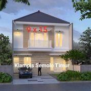 Rumah KLAMPIS SEMOLO TIMUR Dkt Wisma Mukti Semolowaru Manyar Nginden MERR (27165143) di Kota Surabaya
