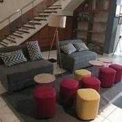 Murah..1 Set Sofa, Puff Standing Lamp,Kondisi 95% Bandung (27167627) di Kota Bandung