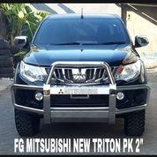 """Bemper Depan Stainless Mitsubishi New Triton PK 2"""" (27172819) di Kota Surabaya"""