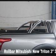 "Rollbar Stainless Mitsubishi New Triton 3"" 3L (27172847) di Kota Surabaya"