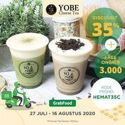 YOBE Cheese Tea Discount 35% (27174651) di Kota Jakarta Selatan