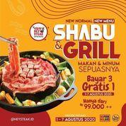 Hey Steak Shabu & Grill Bayar 3 Gratis 1 (27174691) di Kota Jakarta Selatan