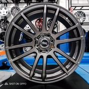 Velg Mobil R17 Pelak Racing NOSHIRO 57E JD5619 HSR Ring 17 Untuk Jazz Brio Calya Avanza Livina (27174703) di Kota Surakarta