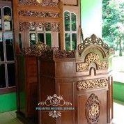 Mimbar Masjid Podium Model Kereta (27177435) di Kab. Kampar