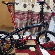 Sepeda Lipat Merk Element Ecosmo Z8 Full Upgrade (27184843) di Kab. Jepara
