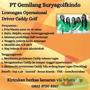 Pramugolf (Caddy) (27191807) di Kota Jakarta Pusat