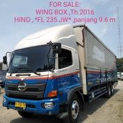 Hino FL 235 JW Th.2016 Wing Box 9.6 M (27192703) di Kab. Bekasi