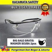 Kacamata APD 3397 Kacamata Safety GRATIS MASKER SCUBA (27193311) di Kota Bogor
