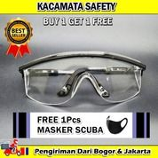 KACAMATA APD 03261P Kacamata Safety GRATIS MASKER SCUBA (27193327) di Kota Bogor