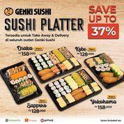 Genki Sushi Promo Sushi Platter Save Up To 37% (27202443) di Kota Jakarta Selatan